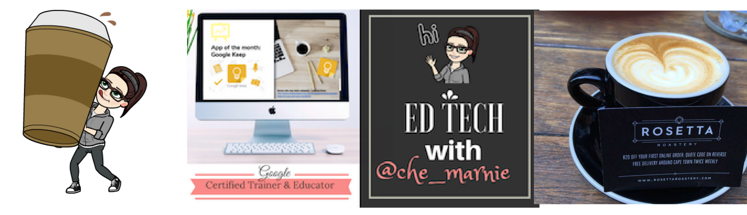 EDTECH WITH @CHE_MARNIE